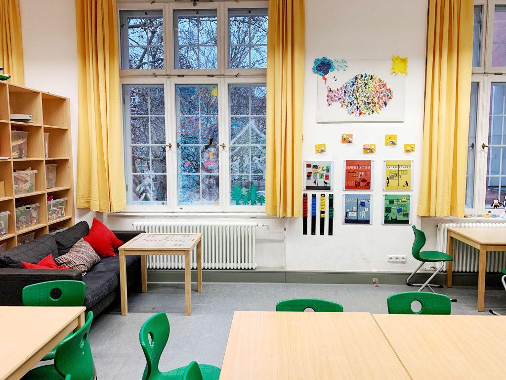 Mittagsbetreuung der Grundschule in der Türkenstraße
